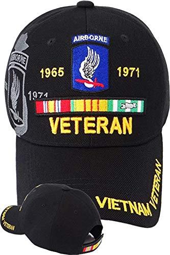 E1toE9 173RD Airborne Brigade Vietnam Veteran Cap (Vietnam Airborne 173rd Brigade)