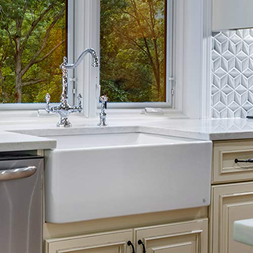 Fine fixtures Sutton Fireclay sink, 33