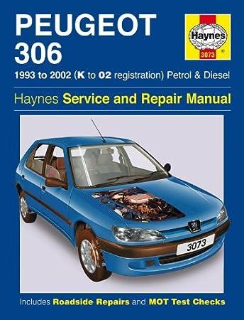peugeot 306 repair manual haynes manual service manual workshop rh amazon co uk Peugeot 306 Cabrio peugeot 306 cabriolet service manual