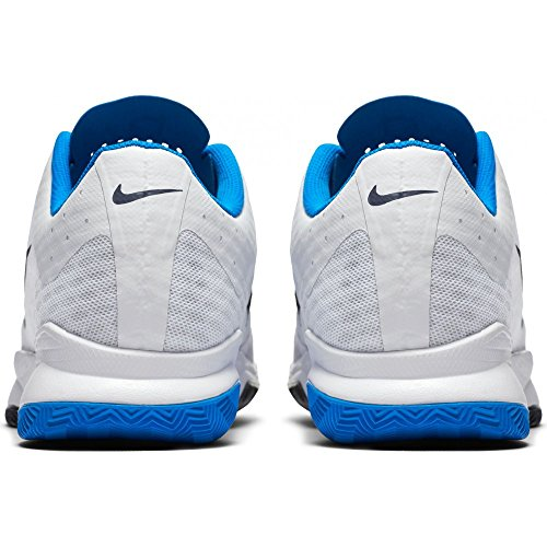 Nike 845007-140, Zapatillas de Tenis para Hombre Varios colores (White / Obsidian-Photo Blue)