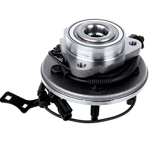 ECCPP Wheel Hub and Bearing Assembly Front 515078 fit 2000-2019 Ford Explorer Sport Trac Mercury Mountaineer Replacement for 5 lugs wheel hub with ABS 3 Bolt Flange
