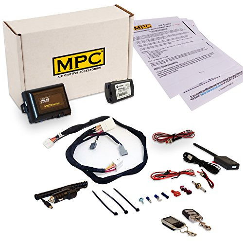 Complete 2 Way Remote Starter Kit for Honda CR-V [2012-2015] Prewired for Easy - Engine Remote Starter Install