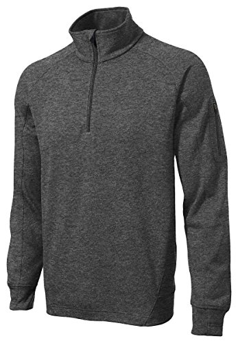 1/4 Zip Polyester Fleece Pullover - 7