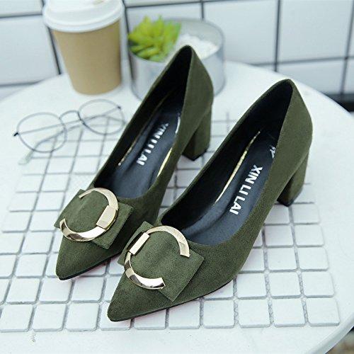 de Zapatos Hembra Corte Xue Tac con Qiqi qwCvFWEF