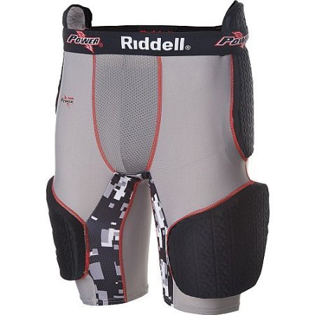 Riddell Five Piece Padded Football Girdle