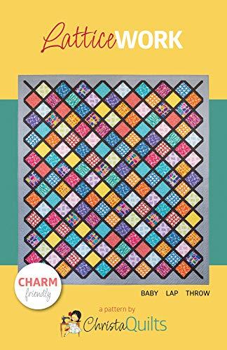 Christa Quilts Latticework Quilt Pattern by Christa Watson - Lattice Quilt Pattern