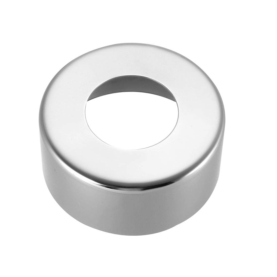 sourcing map Round Escutcheon Plate 60x25mm Stainless Steel Polishing for 33mm Diameter Pipe