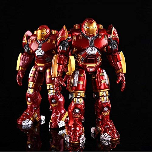 PAPWELL Iron Man Hulkbuster 7 inch Hot Toys Avengers Infinity War Marvel Legends Avenger Series Big Superhero Toy Figures Christmas Halloween Collectable Gift Collectible Collectibles (Golden Paint)