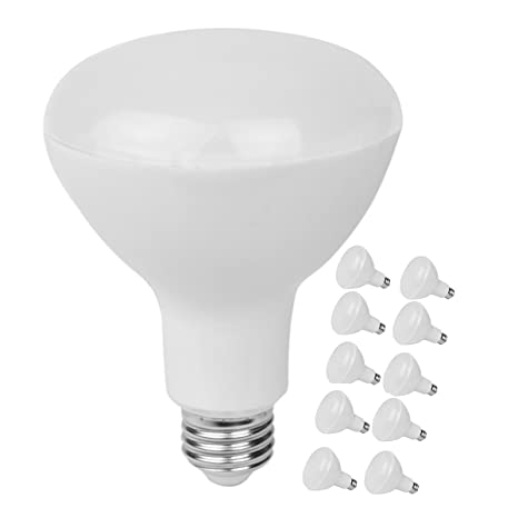 info for fdc26 bdead 10-Pack BR30 Led Recessed Light Bulb,15w (100w Equivalent),Dimmable,3000k  Warm White,1350lm,Medium Based E26,120°Beam Angle,UL-listed and Energy Star  ...