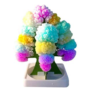 mrGood Crystal Growing kit Toys Creative Colorful Magic Tree Paper Crafts Gifts DIY Paper Tree Gifts Novelty Children Toys Flower Tree