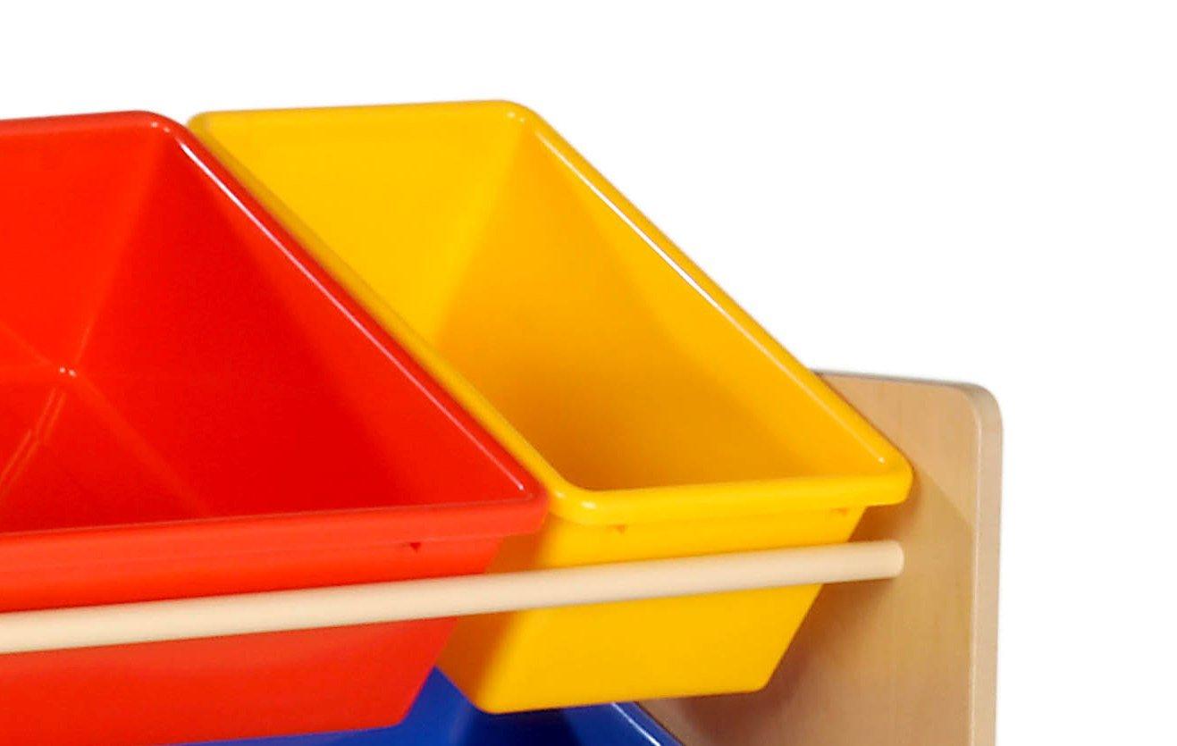 Good Amazon.com: Honey Can Do SRT 01602 Kids Toy Organizer And Storage Bins,  Natural/Primary: Kitchen U0026 Dining