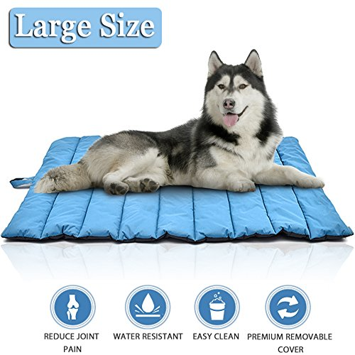 Lifepul Pets Bed Mat-Premium Ultra Soft Dog&Cat Bed Cover In Large Size, Water-Resistant Puppy Cat Bed Blankets for Indoor Outdoor Use - Perfect for Funiture, Floors, Car Seats, Lawn, Couches by Lifepul