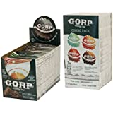 GORP Energy Protein Bar - Combo Box - Plant Based Protein - Whole Food Ingredients - Made in Canada - Oats, Nuts, Seeds - 11g Protein, 6g Fiber - Re-sealable Packaging - Box of 12 bars