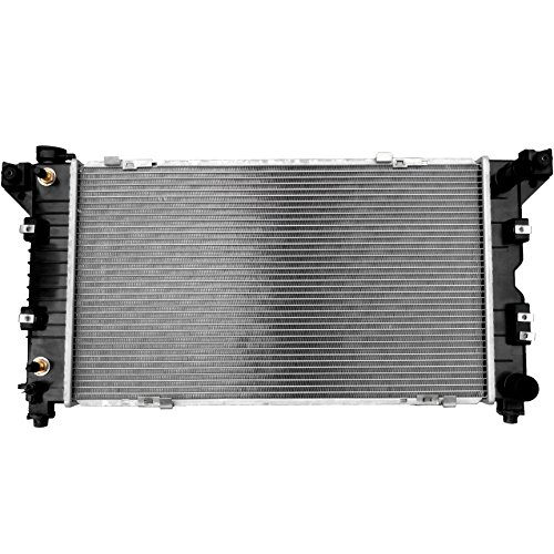 Scitoo 1850 Radiator fits for 1996-2000 Dodge Grand Caravan/Plymouth Grand Voyager Mini Passenger Van 3.0L 3.3L 3.8L 1996-2000 Dodge Caravan/Plymouth Voyager Mini Passenger Van 3.3L 2.4L 3.0L Plymouth Voyager Body Parts