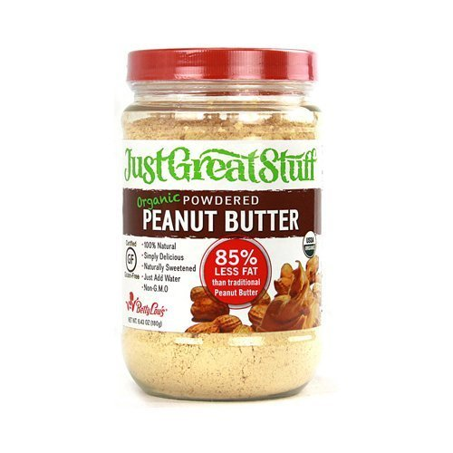 Betty Lou's Just Great Stuff Organic Powdered Peanut Butter 6 43 oz ( Value  Bulk Multi-pack)