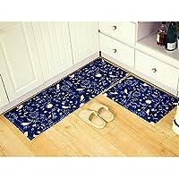 "Creative ingenuity Flannel Doormats Rugs of Colorful Pattern- Home Bedroom Kitchen Bathroom Non-Slip Strip Absorbing Mat (20""x30"", Singing Bird)"
