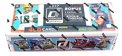 2017 Panini Donruss NFL Football Complete Factory