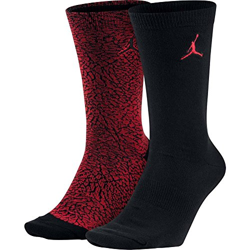 Nike sx5859 – 657 – Calcetines para hombre, Hombre, SX5859-657, University Red/Noir, FR : M (Taille Fabricant : 38-42)