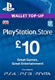 PSN CARD 10 GBP WALLET TOP UP [PSN Code - UK account]