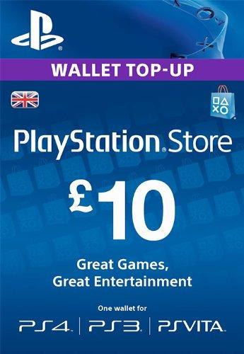 PlayStation PSN Card 10 GBP Wallet Top Up | PSN Download Code - UK ...