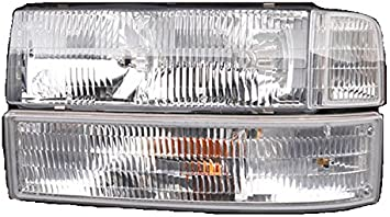Passenger Replacement Front Corner Lamp Turn Signal Light BuyRVlights Fleetwood Pace Arrow Vision 1998-2001 RV Motorhome Right