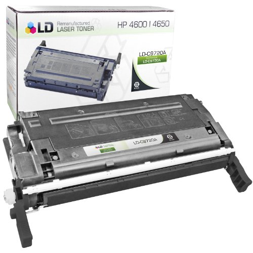 LD © Remanufactured Replacement Laser Toner Cartridge for Hewlett Packard C9720A (HP 641A) Black, Office Central