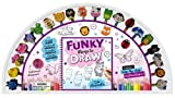 Funky Things to Draw 20 Pencil and Eraser Set Fan (UK)
