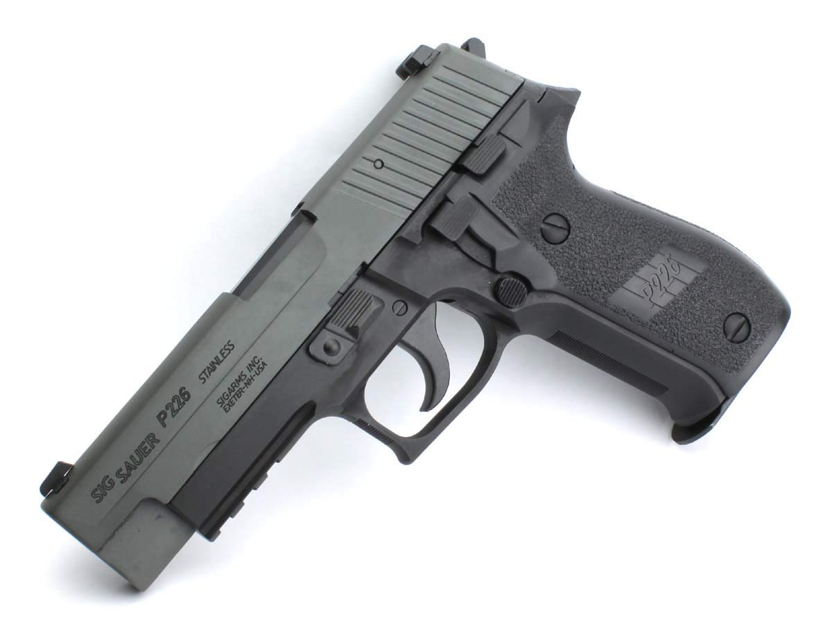 東京マルイ ガスブローバックガン SIG P226R アルミスライドカスタム B07PJDGJP8