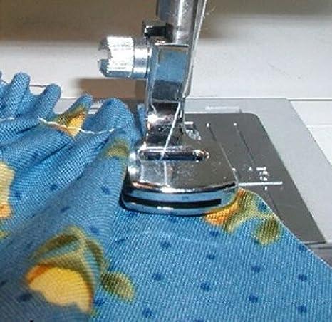 honeysew máquina de coser bajo filo prensatela de doble hilo reunión de pie (SA120) 121443/702: Amazon.es: Hogar