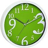 TFA 60.3034.04 - Reloj de pared electrónico, 200 mm, color verde