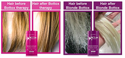 Brazilian Hair Bottox Expert Thermal Mask 8.8 oz - Contains Marine Collagen and Almond Oil - Formaldehyde-Free - Repairs the Hair Elasticity and Flexibility, Softens, Moisturizers, Adds Shine by Nutree Professional (Image #5)