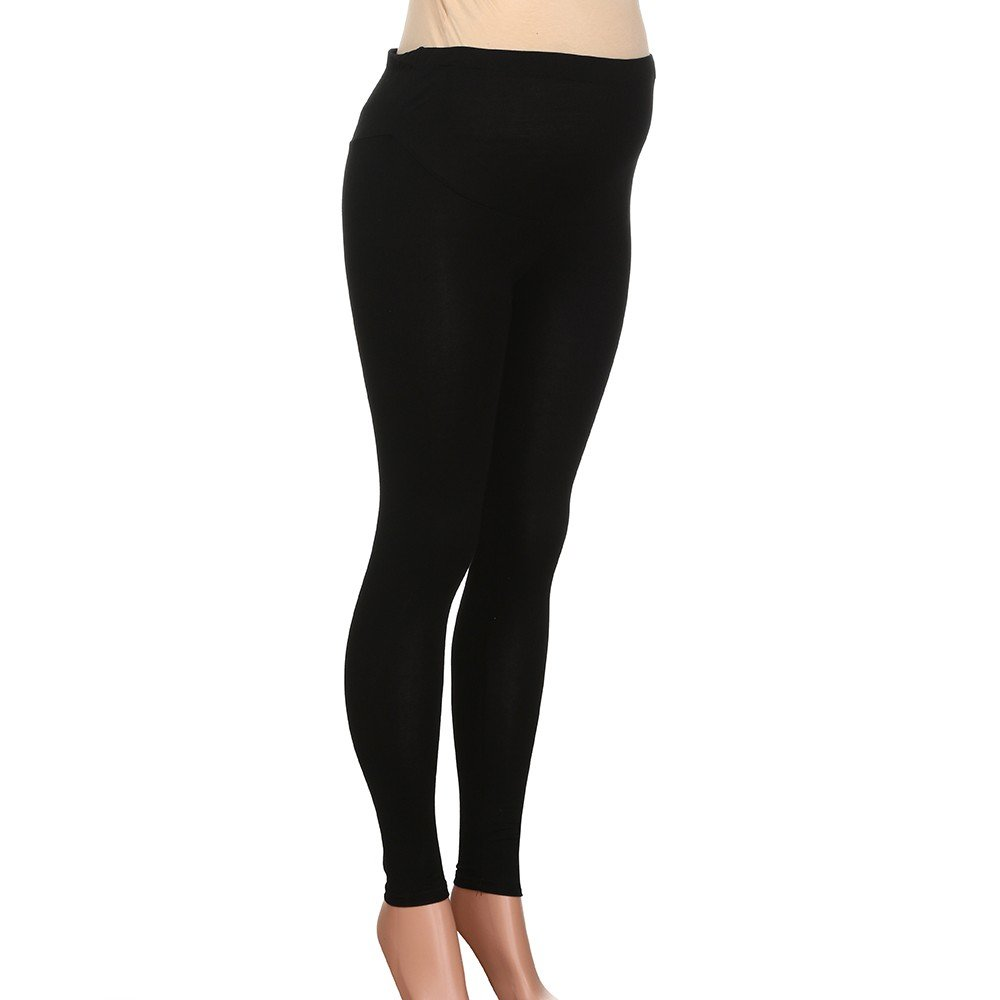 a2af0e70fb880 Amazon.com: Littleice Maternity Womens Sports Gym Yoga Pants Pregnant  Workout High Waist Running Pant Fitness Elastic Leggings: Clothing