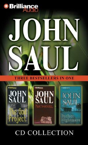 John Saul CD Collection 3: The God Project, - John Saul Audio Books