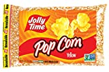 Jolly Time Yellow Popcorn Kernels - Gluten-Free Whole Grain Natural Popping Corn, 2 lb. Bag (32 Ounces)