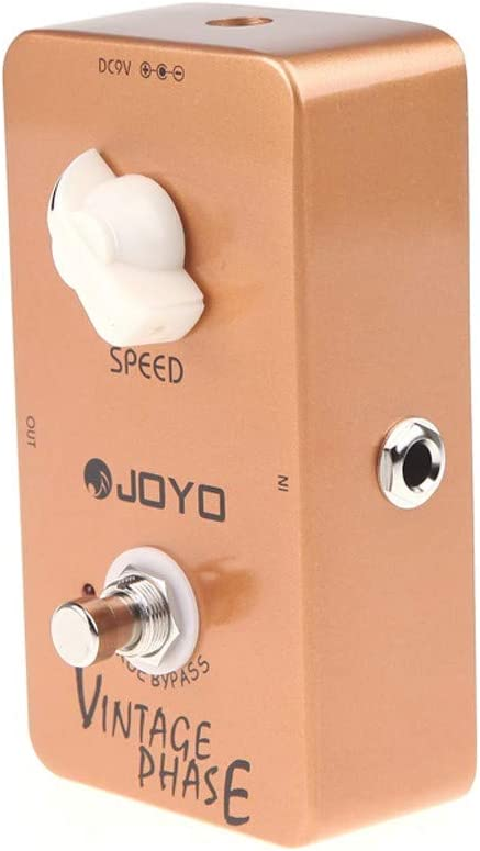 QKP JOYO JF-06 Fase Vintage Phaser Guitarra Efecto Pedal True Bypass