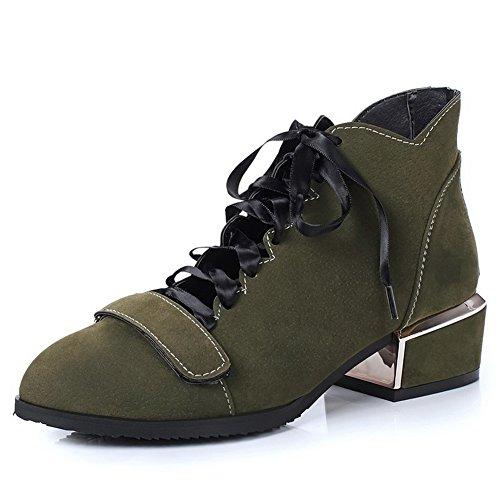 BalaMasa Womens Casual Fashion Solid Urethane Pumps Shoes Green lb3QbvwGoJ