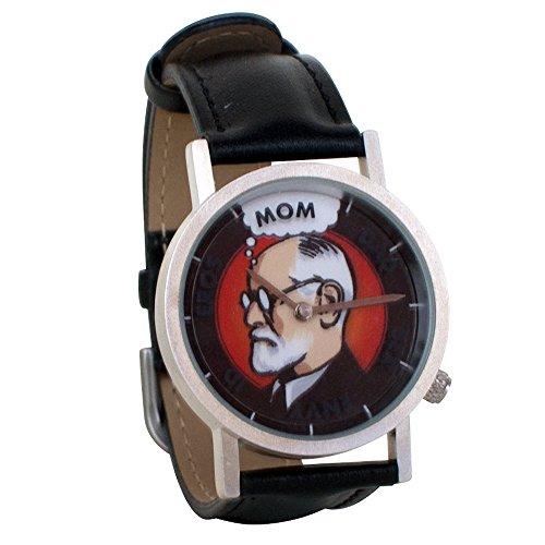Freudian-Thoughts-Sigmund-Freud-Psychology-Unisex-Analog-Novelty-Gift-Watch