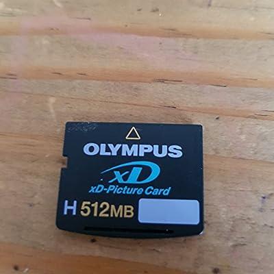 Olympus 512 MB xD Picture Card (tipo H) tarjeta de memoria ...