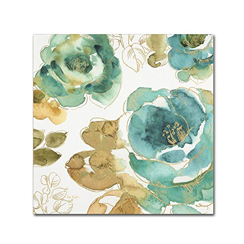 My Greenhouse Roses III by Lisa Audit, 24x24-Inch Canvas Wall -