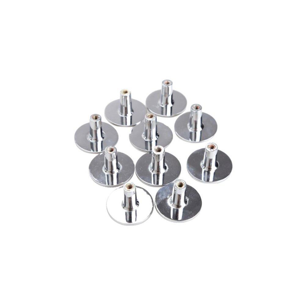 WINOMO 10pcs cristallo porta manopola cassetto tirare maniglia 30mm argento