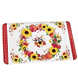 Best Collections Etc Bath Towels - Collections Etc Sunflowers Bath Mat with Fall Leaves Review