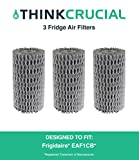 Think Crucial 3 Replacements Frigidaire EAF1CB Pure Air Refrigerator Air Filter Fits Pure Advantage Refrigerators, Compatible Part # 241504902 & 241575001