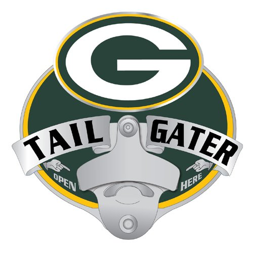 Siskiyou NFL Green Bay Packers Tailgater Hitch Cover, Class III ()
