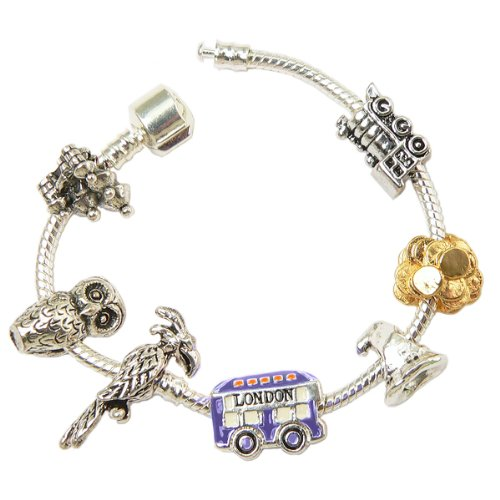 Harry Potter Inspired Charm Bracelet (Size 7.5)