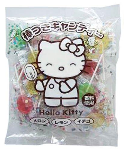 Fujiya Japan Hello Kitty lollipops 310g Hello Kitty Lollipops