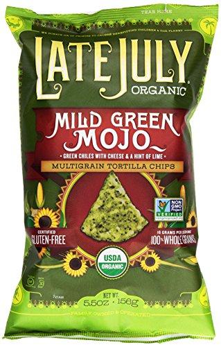 Late July Organic Mild Green Mojo Snack Chip, 5.5 oz - Jalapeno Tortilla Chips