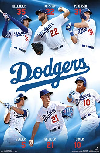 (Trends International Los Angeles Dodgers - Team Wall Poster 22.375
