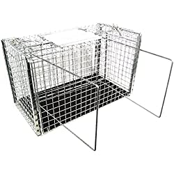 Tomahawk Model 306NC2SQ - Squeeze Cage for Feral Cats with Two Sliding Doors