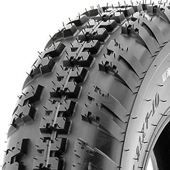 SunF ATV UTV 21x7-10 All Terrain 6 PR Tubeless Replacement Trail Tire A031, [Single]