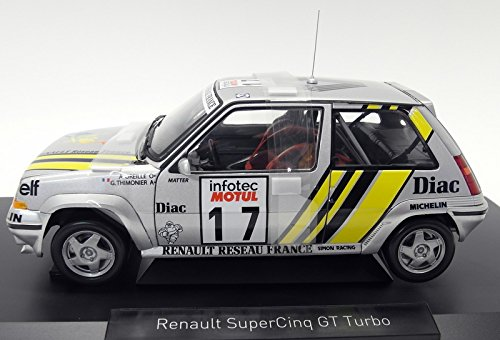 Norev NV185215 1: 18 1989 Renault Supercinq GT Turbo - Tour de Corse 1989: Amazon.es: Juguetes y juegos